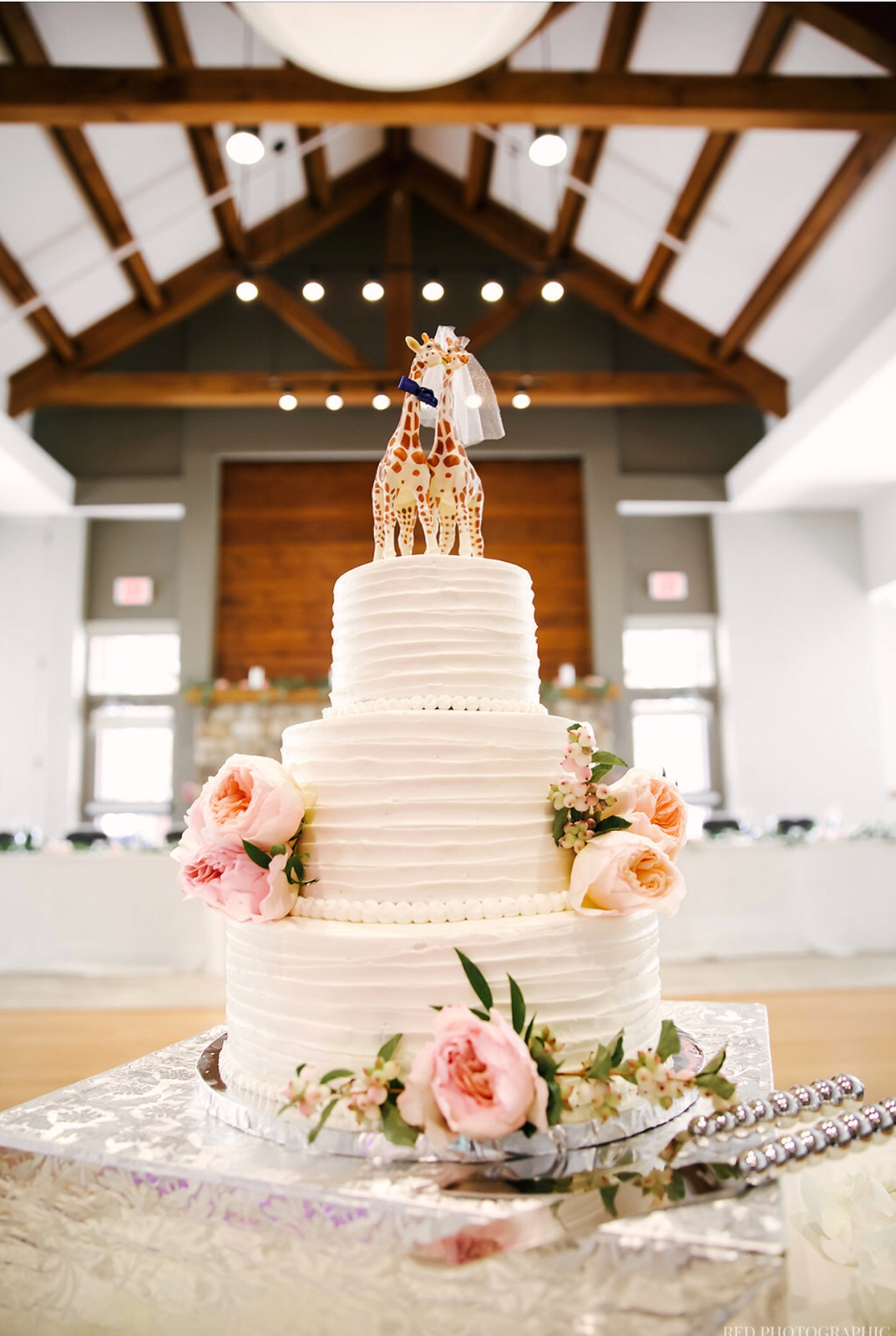 Photo of a wedding cake