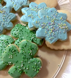 Photo of sugar cookies for Saint Patrick's day