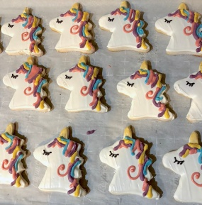 Picture of unicorn sugar cookies