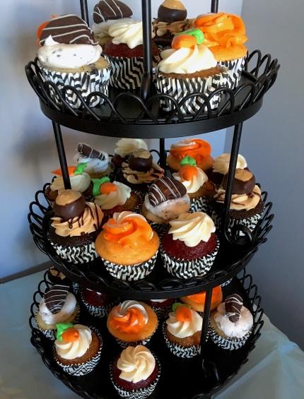 Photo of a cupcake assorti